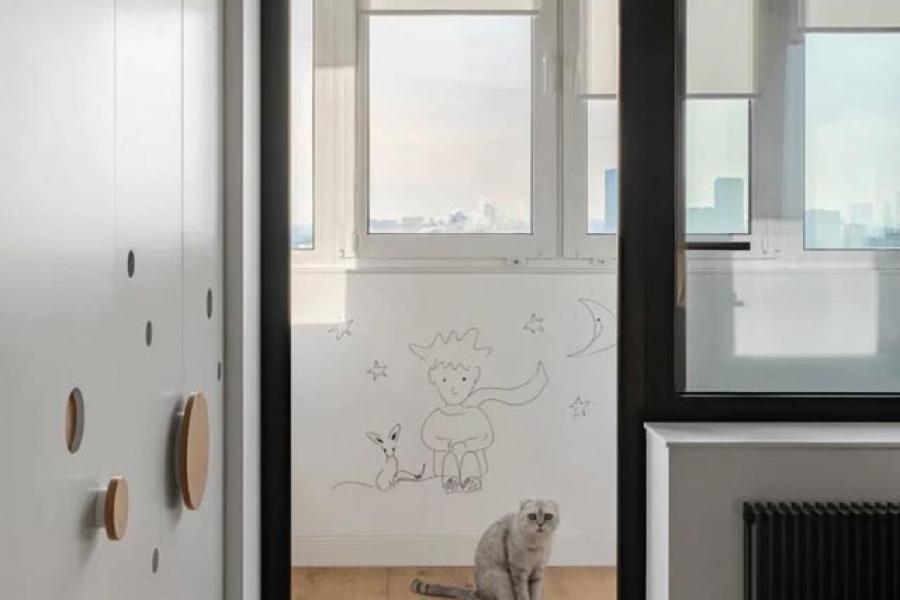 Кухня с выходом на балкон: рациональные решения - 24148899