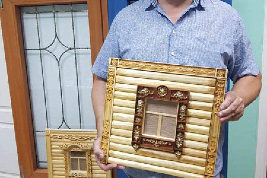 Деревянные наличники на пластиковые окна - 372173890