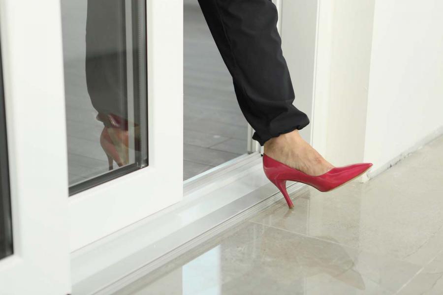 Пластиковые раздвижные двери на балкон, как оформить заказ? - 1113222053