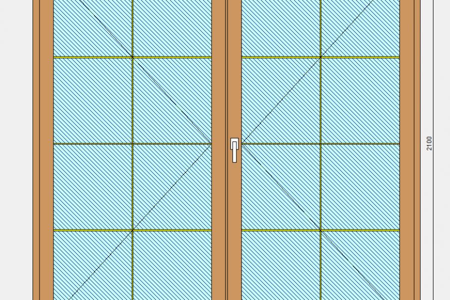 Меняем балконный блок на французское окно - 202398635