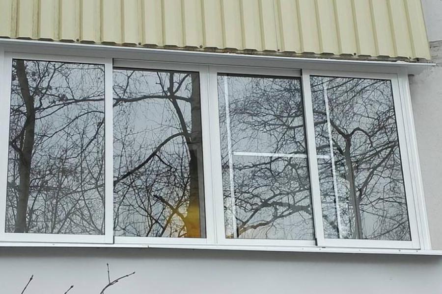 Как купить алюминиевые раздвижные окна без монтажа? - 387157660