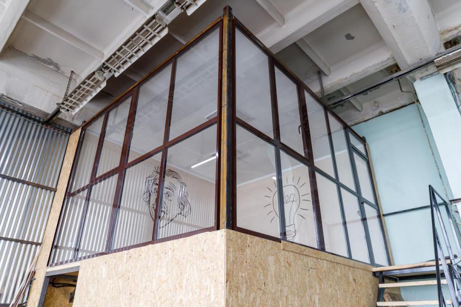 Офисные перегородки из стекла и алюминия – стиль вашего комфорта - 361503975