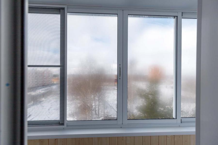 Раздвижное остекление балкона - 71182733