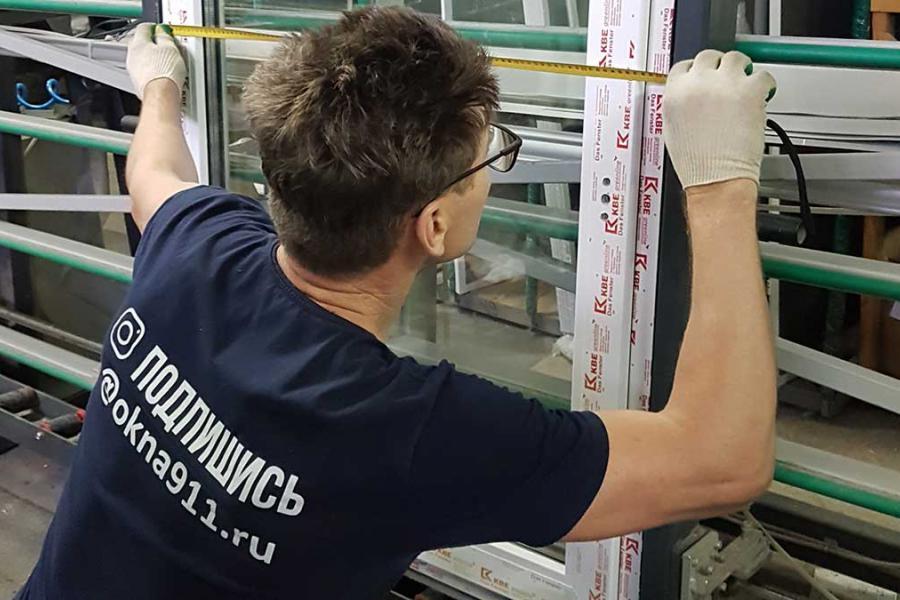 Вклейка стеклопакетов в окна ПВХ - 35485242