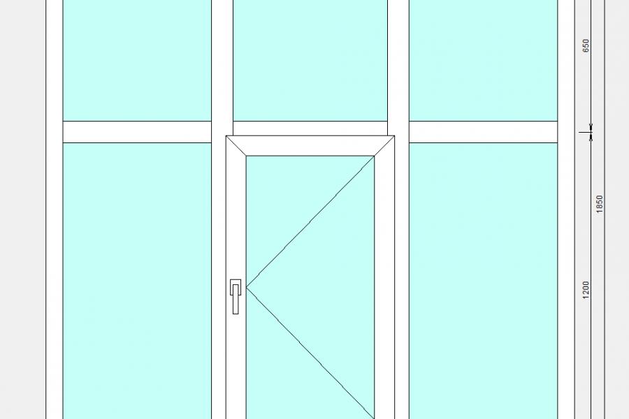 окно в подъезд