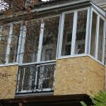 Остекление балконов алюминиевым профилем Provedal