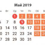 График работы на майские праздники - 870747787