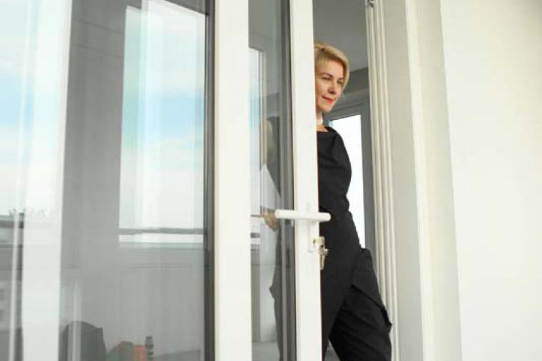 Раздвижные двери на балкон цена от производителя - 1043498314