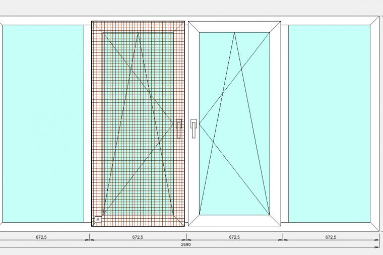 Остекление балконов в Ногинске.  ПВХ конструкция с односторонней ламинацией - 504406310