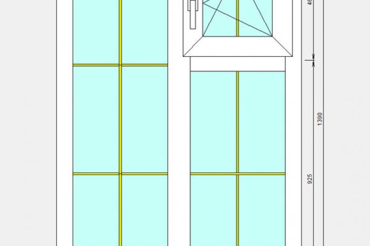 Изготовление пластиковых окон с форточками - 1323436970