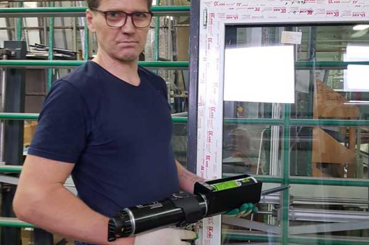 Технология вклейки стеклопакета - 1167028528