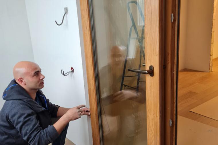 Параллельно-сдвижные двери для нашего заказчика - 1258359993