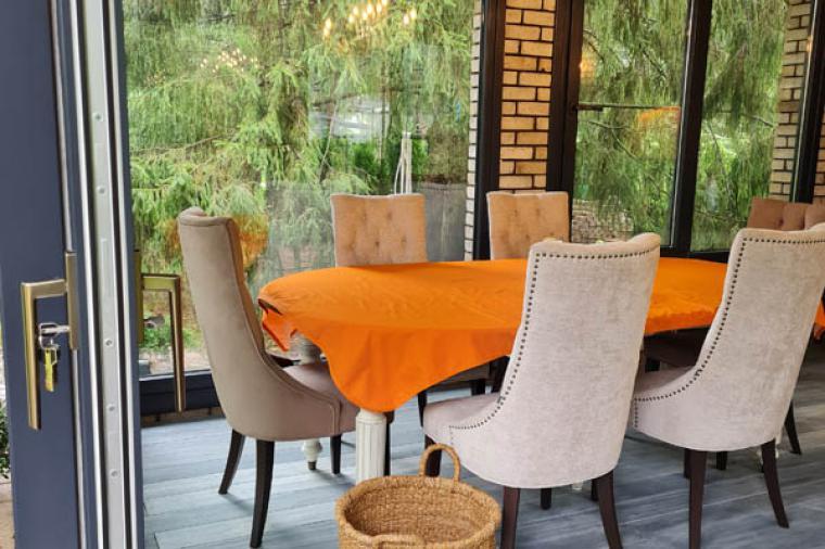 Барбекю с панорамными окнами - 142842526