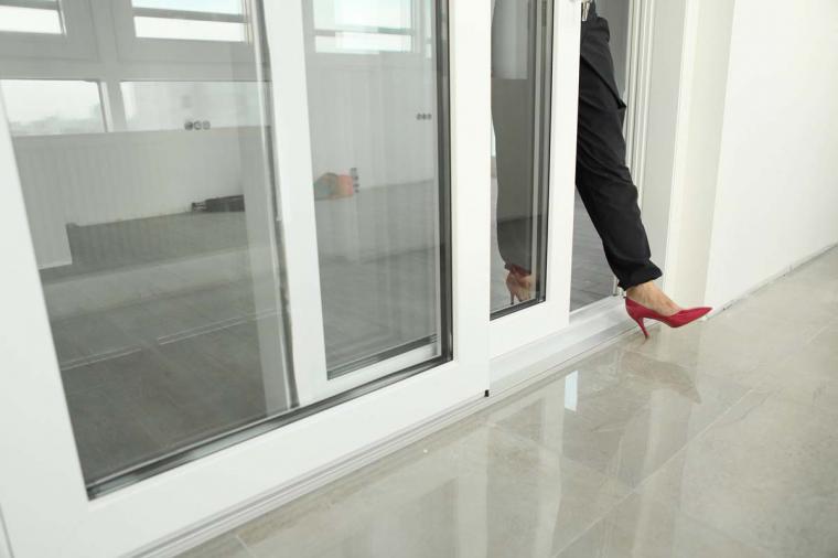 Пластиковые раздвижные двери на балкон, как оформить заказ? - 488808346
