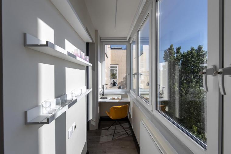 Остекление балкона для героев телепередачи Квартирный вопрос, архитектор Татьяна Кононова.