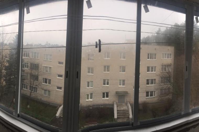 Балконные раздвижные окна из алюминия в Домодедово - 1123419083
