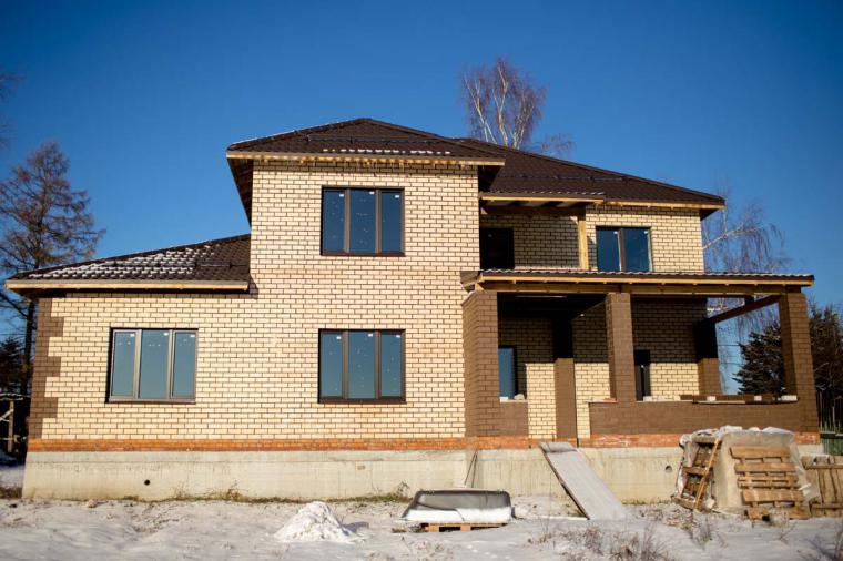 Остекление домов и коттеджей: выбираем цвет окон - 307300984