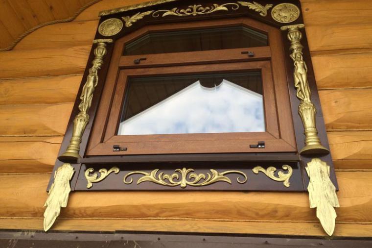Деревянные наличники на пластиковые окна - 1667224364