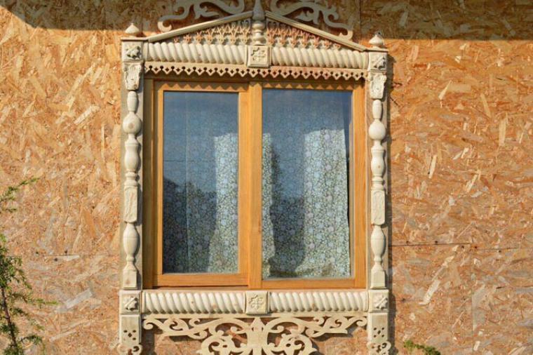 Деревянные наличники на пластиковые окна - 2121194795