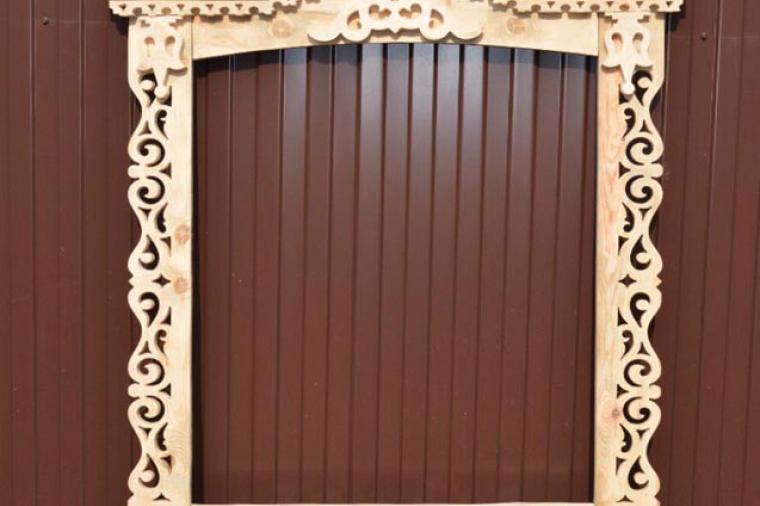 Деревянные наличники на пластиковые окна - 645092187