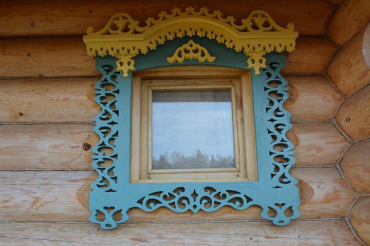 Деревянные наличники на пластиковые окна - 1315095972