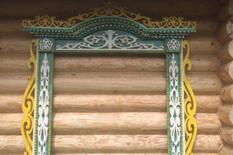 Деревянные наличники на пластиковые окна - 804055197