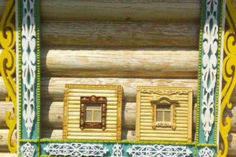 Деревянные наличники на пластиковые окна - 1348663515