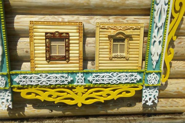 Деревянные наличники на пластиковые окна - 826648404