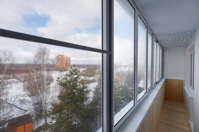 Раздвижные окна, балконы - 1379135853