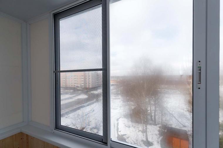 Раздвижное остекление балкона - 305309766