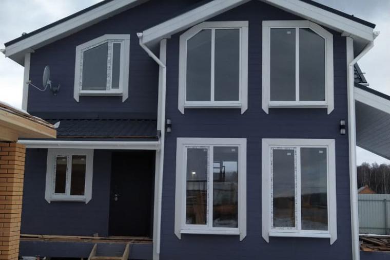 Пластиковые окна в каркасном доме - 907074970