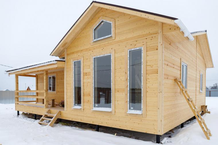 Окна в каркасном доме - 118006174