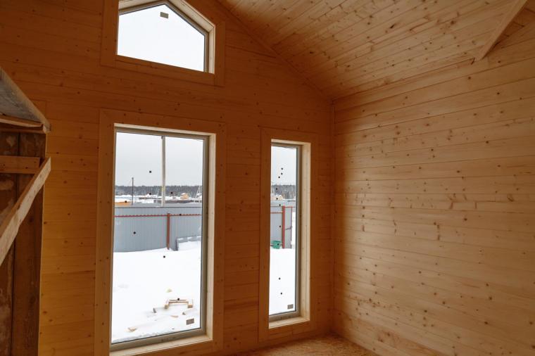 Пластиковые окна в каркасном доме - 486806785