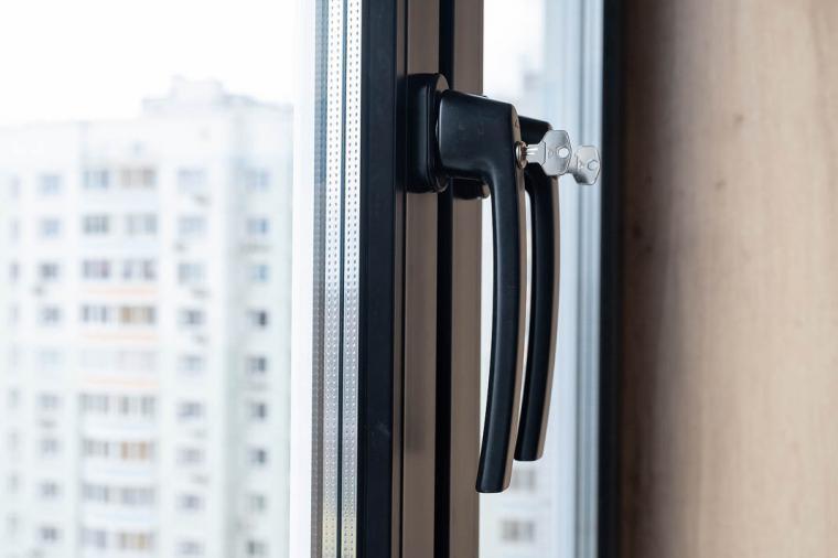 Черные окна ПВХ - 1209283921