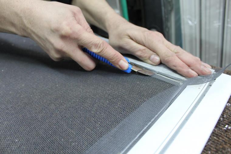 Москитная сетка на пластиковые окна - 989906166