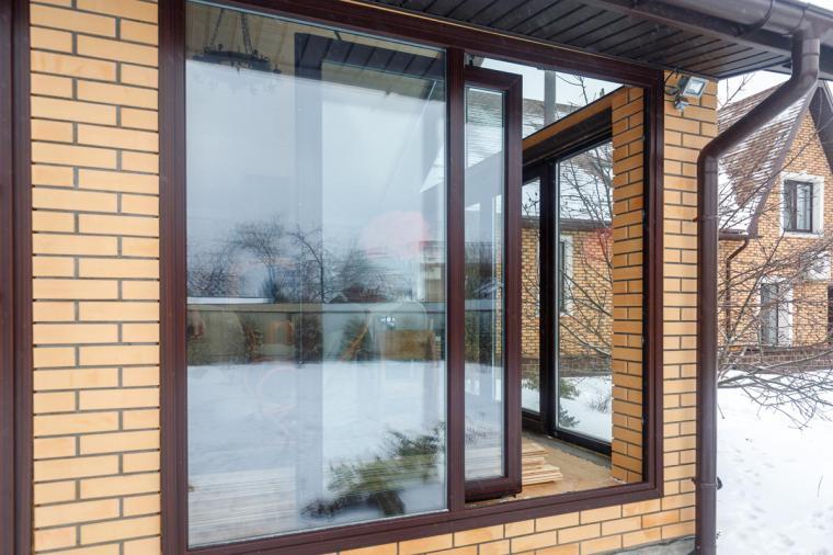 Раздвижные двери Patio. Цвет махагон 2097013.