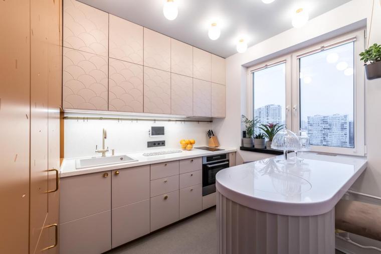 """Окно на кухню. Дизайн бюро """"Парк"""""""