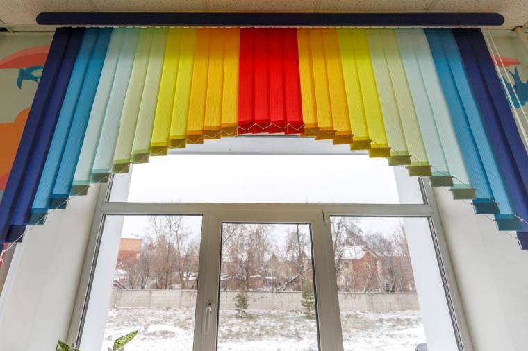 Жалюзи для детской больницы в городе Павловский Поса