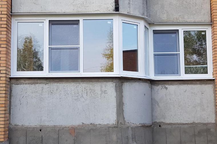 Остекление балкона в Орехово-Зуево: пластик или алюминий? - 1041124643