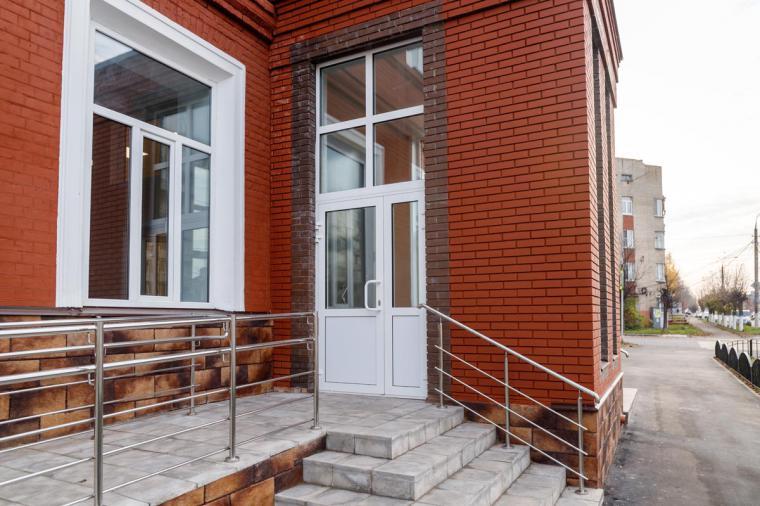 Двери теплый алюминий в Павловском Посаде