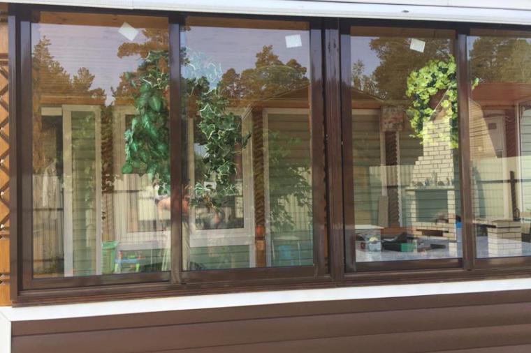 раздвижные окна для веранды 2