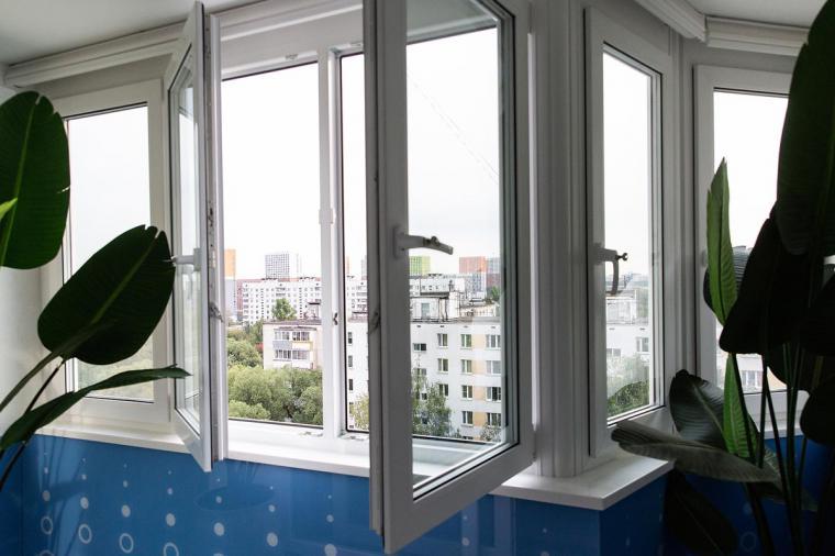 Остекление эркерного балкона  - 327488085
