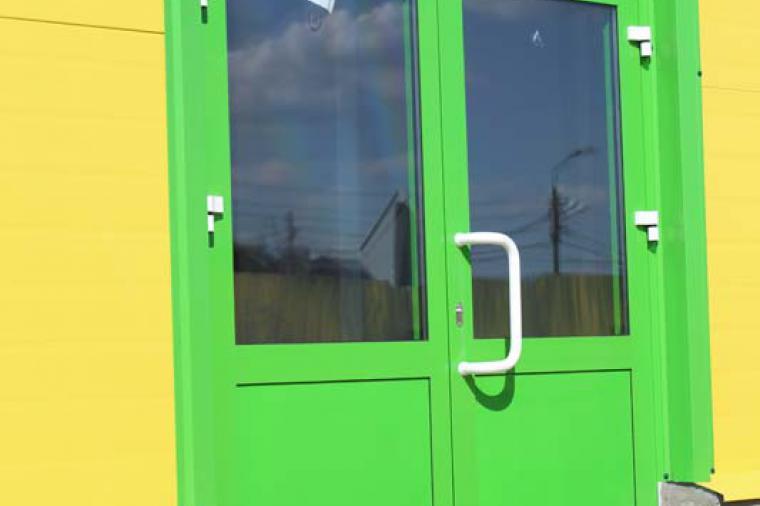 Двери и окна из теплого алюминия - 223580476