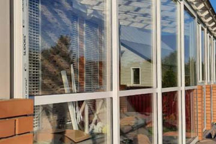 Раздвижное остекление балкона - 1311774217
