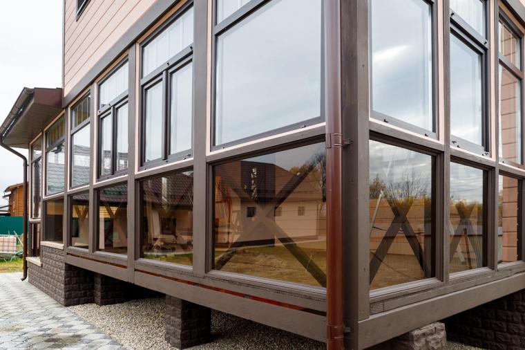 Пластиковые окна для остекления веранды в Насырёво - 129663516