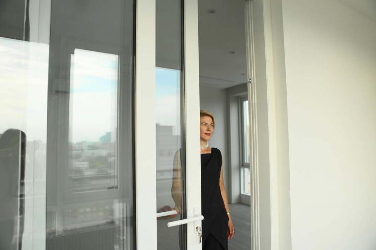"""Наши раздвижные двери в жилом комплексе """"Наследие"""" - 1372407560"""