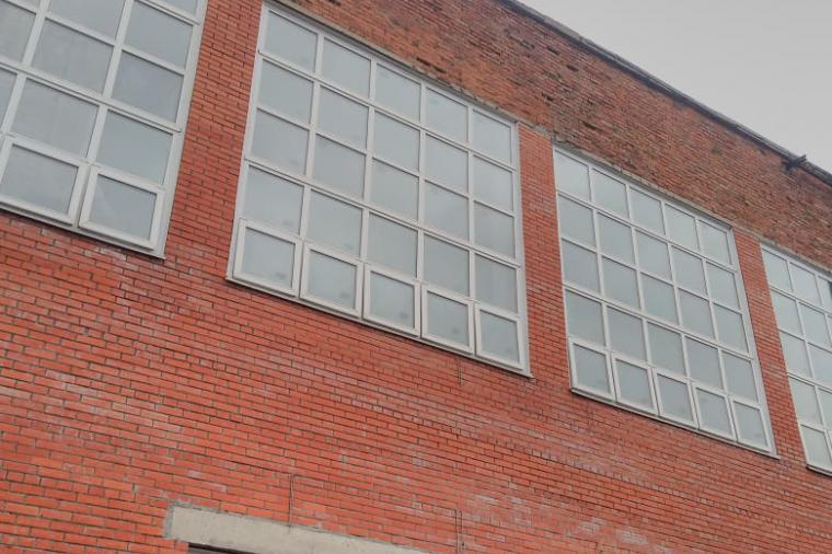 Пластиковые окна без установки для промышленных зданий - 1833810973
