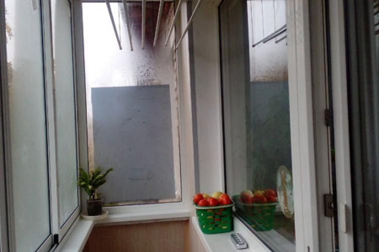 Холодное остекление балкона. Павловский Посад, переулок 1 Мая - 1342334159