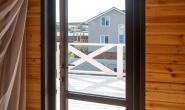 Входные пластиковые двери для дачного дома - 1088061618