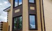 Пластиковые окна в загородном кирпичном доме - 2063381787